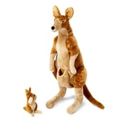 Kangaroo and Joey - Plush,26.4 x 18.5 x 11.8,(8834)