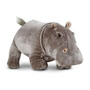 Hippopotamus - Plush,25.2 x 17.2 x 14.6,(8837)