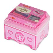 "Melissa & Doug Jewelry Box, 6.25"" x 5.75"" x 5"", (8861)"