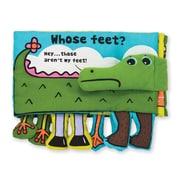 """Whose Feet?,9.4"""" x 9.1"""" x 1.5"""", (9203)"""