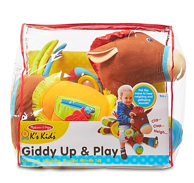 """""Melissa & Doug Giddy-Up & Play, 19.5"""""""" x 16"""""""" x 9.5"""""""", (9222)"""""" 1904106"