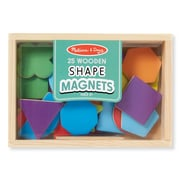 "Melissa & Doug Wooden Shape Magnets, 7.9"" x 5.5"" x 1.2"", (9277)"