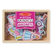 "Melissa & Doug Wooden Princess Magnets, 7.9"" x 5.5"" x 1.2"", (9278)"