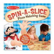 "Spin-a-Slice Pizza Game,10.65""x10.65""x2.75"", (9307)"
