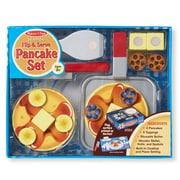 "Wooden Flip & Serve Pancake Set,13.2""x10.7""x3.2"", (9342)"