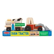 "Melissa & Doug Farm Tractor, 14.2"" x 5.75"" x 4.2"", (9392)"