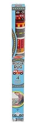 """""Melissa & Doug Round The City Rescue Rug, 40"""""""" x 4"""""""" x 4"""""""", (9406)"""""" 1904221"