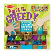 "Melissa & Doug Don't Be Greedy 10.7"" x 10.7"" x 3.5"" (9450)"