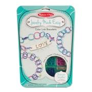 """Melissa & Doug Color Link Bracelets, 11.65"""" x 8.4"""" x 0.8"""", (9472)"""