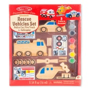 "Melissa & Doug Rescue Vehicles Set, 10"" x 7.8"" x 2.9"", (9528)"