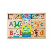 "Melissa & Doug ABC Picture Boards,13.5"" x 9"" x 1.5"", (9786)"