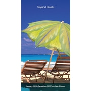 "2016 BrownTrout Publishing Travel and Scenic 6"" x 3"" Pocket Planner Tropical Islands (9781470000000)"