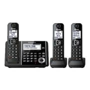 Panasonic® KX-TGF343B Single Line Cordless Telephone, Black