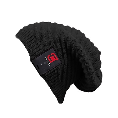 Caseco Blu-Toque, Bluetooth Slouch Hat, Black