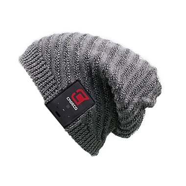 Caseco Blu-Toque, Bluetooth Slouch Hat, Grey