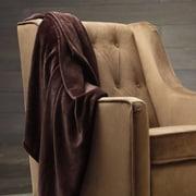 Spirit Velvet Plush Blanket; Chocolate