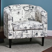 AC Pacific Jerry Barrel Chair