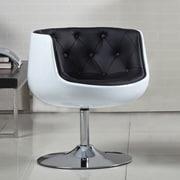 AC Pacific Kacey Modern Arm Chair; White