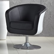 AC Pacific Aero Modern Arm Chair; White