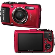 Olympus TG-4 16 MP Digital Camera, 4x Optical Zoom, Red