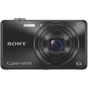 Sony DSC-WX220 18.2 MP Compact Camera, 10x Optical Zoom, Black