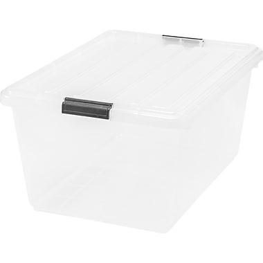 IRIS® 11 GAL Buckle Down Storage Box, 6 Pack (585370)