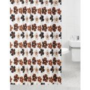 Daniels Bath Emma Polyester Shower Curtain