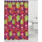 Daniels Bath Neon Polyester Shower Curtain