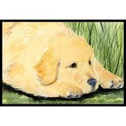 Caroline's Treasures Golden Retriever Doormat; 2' x 3'