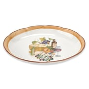 Lorren Home Trends Mona Lisa 16'' Oval Platter
