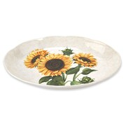 Lorren Home Trends Sunflower 18'' Oval Platter