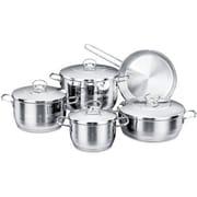 YBM Home Korkmaz 9 Piece Cookware Set