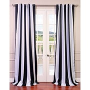 Half Price Drapes Awning Blackout Curtain Panel; 120'' L x 50'' W
