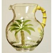 LeadingWare Group, Inc Palm Tree Acrylic Pitcher