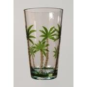 LeadingWare Group, Inc Palm Tree Items 17 Oz. Tumbler (Set of 4)