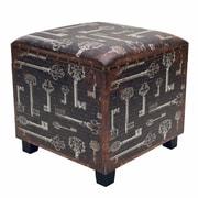 Winward Designs Key Wood Ottoman