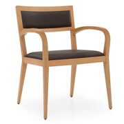 Krug Inc. Addison Guest Chair; Suede