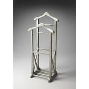 Butler Artifacts Riley Wood Valet Stand