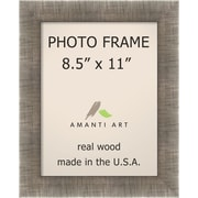 Amanti Art Picture Frame Contemporary; 8.5'' x 11''