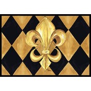Caroline's Treasures Fleur De Lis New Orleans Doormat