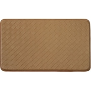 Daniels Bath Diamond Chef Bath Mat; Beige