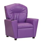 KidzWorld Kid's Recliner; Purple