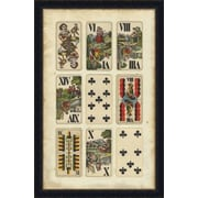 Melissa Van Hise European Card Collection I Framed Graphic Art