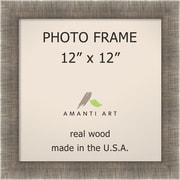 Amanti Art Picture Frame Contemporary; 12'' x 12''
