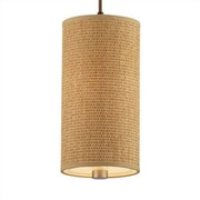 Philips Forecast Lighting Taylor Organic Modern Mini Pendant Shade in Natural Grasscloth