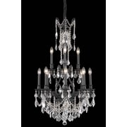 Elegant Lighting Monarch 12 Light Chandelier; Crystal (Clear) / Elegant Cut