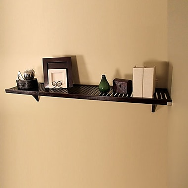 John Louis Home Woodcrest Shelf Kit; Espresso