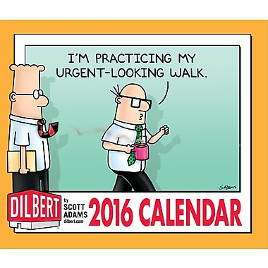 2016 BrownTrout Publishers Day-To-Day Box Calendar, Dilbert, English