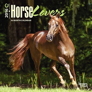 2016 BrownTrout Publishers 12-Month Wall Calendar, Horse Lovers, 7