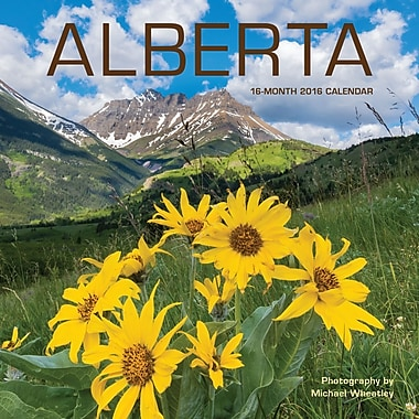 2016 BrownTrout Publishers 12-Month Wall Calendar, Alberta, 7